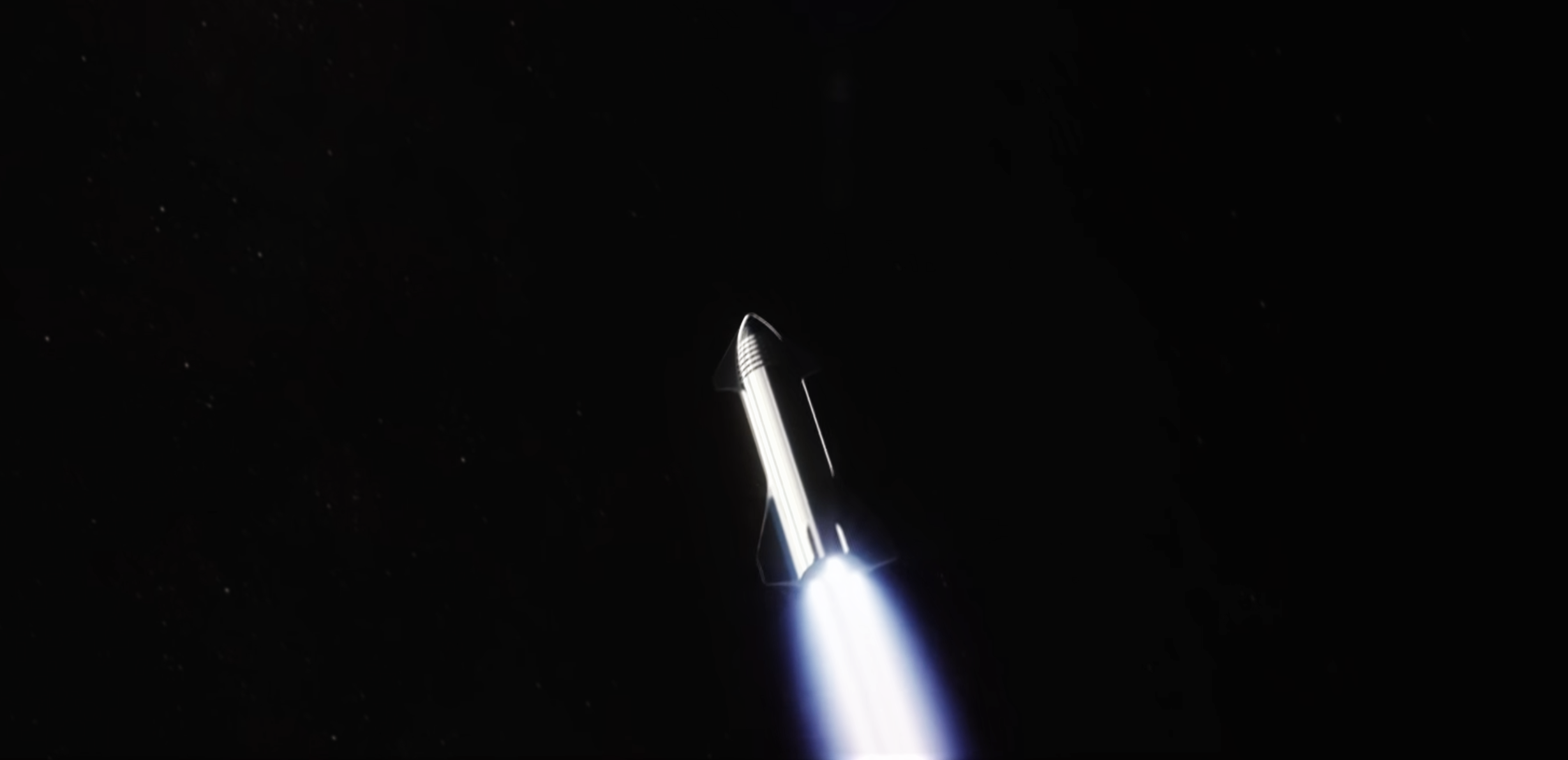 Starship Super Heavy 2019 (SpaceX) orbit raising 1 crop 2