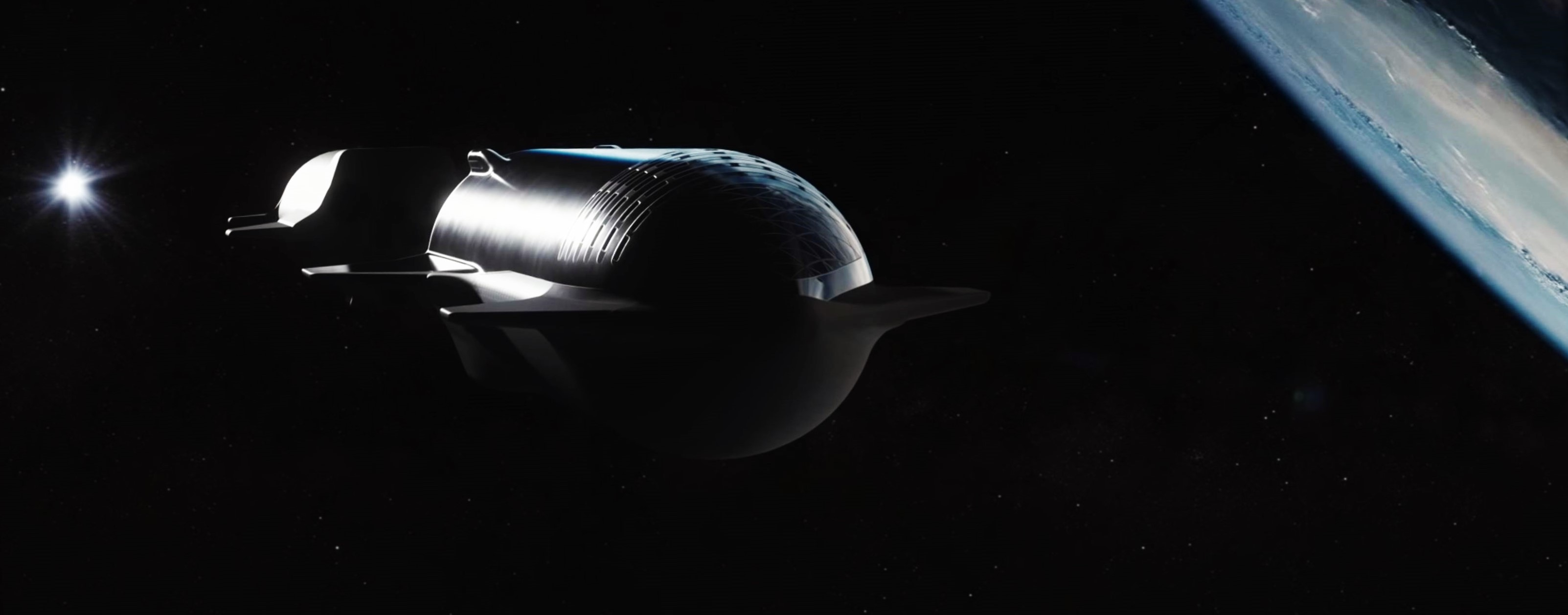 Starship Super Heavy 2019 (SpaceX) refueling 4 crop