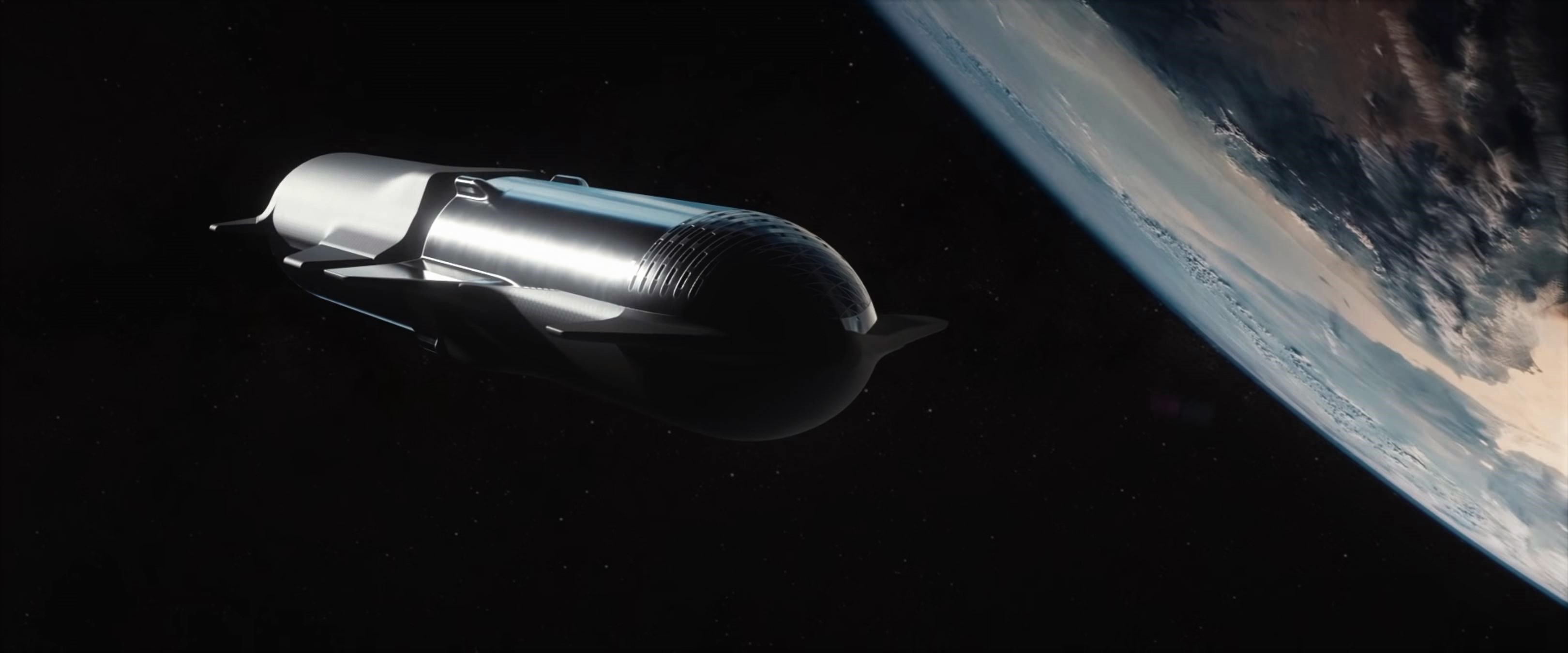 Starship Super Heavy 2019 (SpaceX) refueling 6 crop