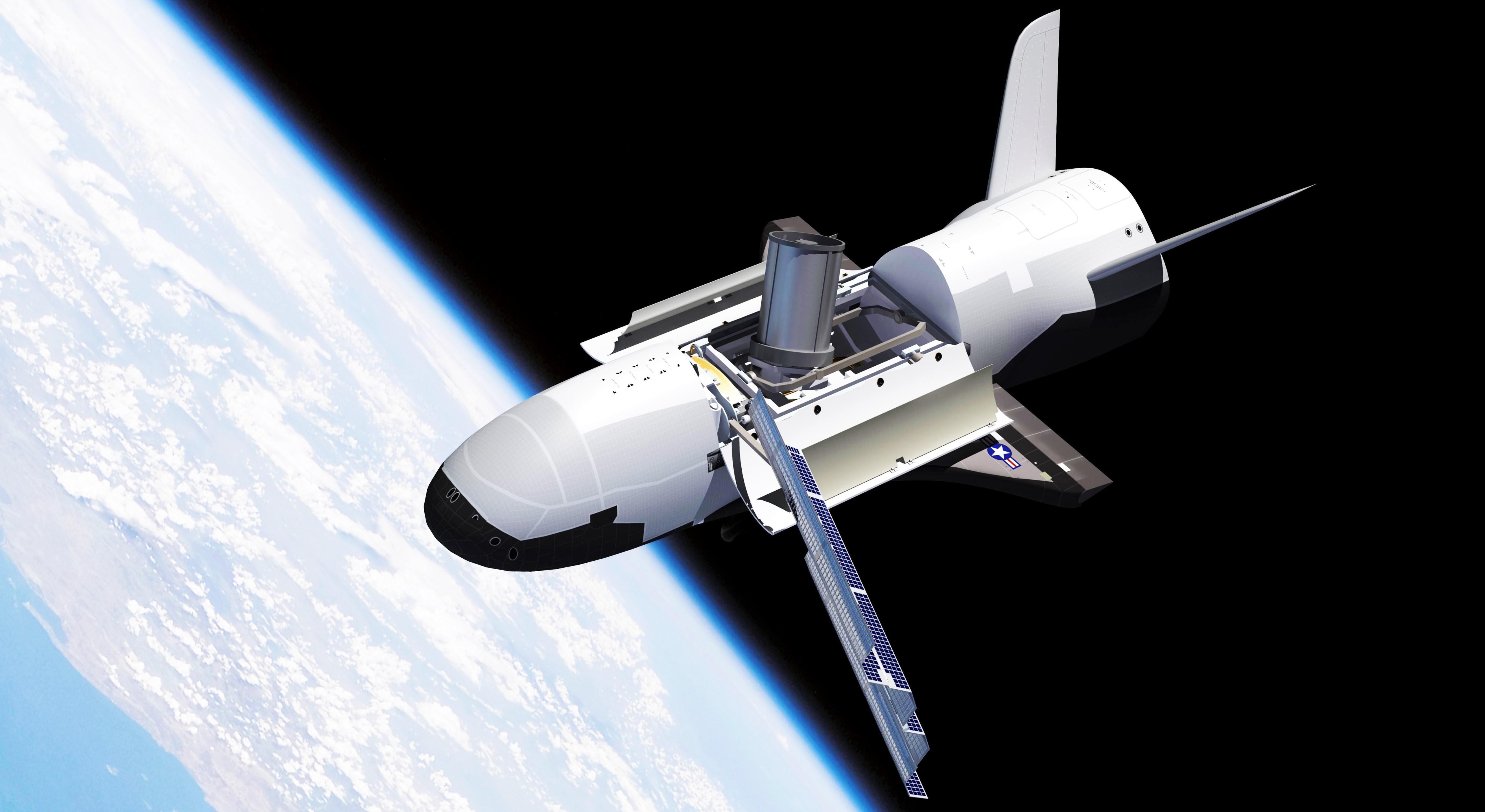 X-37B render (Adrian Mann) 1 edit