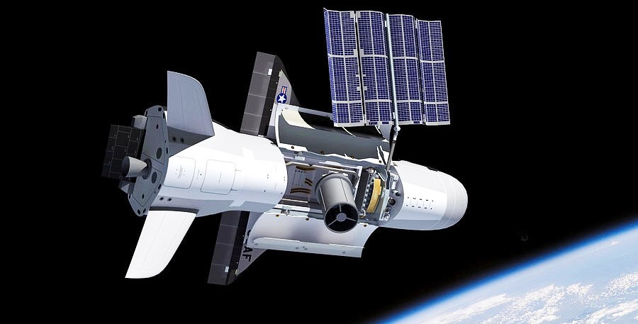 X-37B render (Adrian Mann) 2