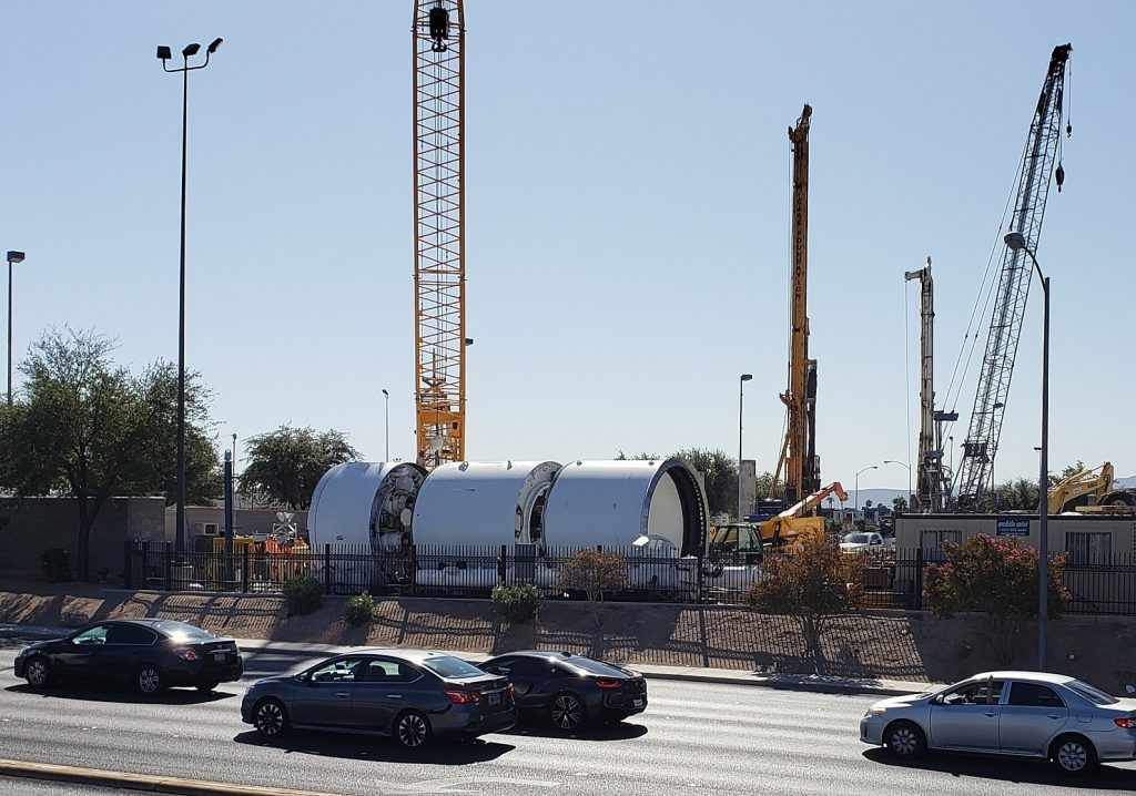 The Boring Company's Las Vegas tunnel project enters full construction phase