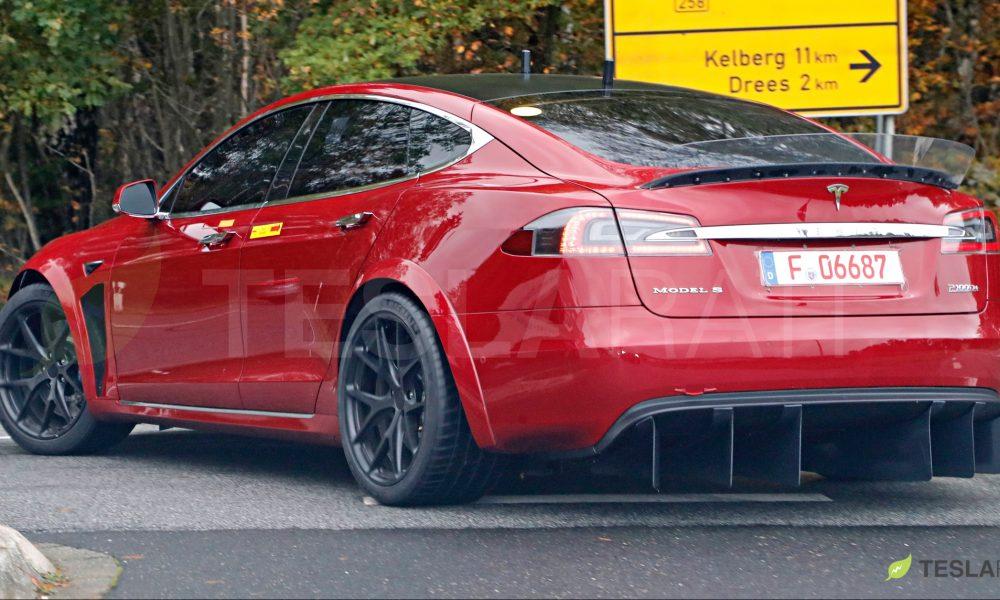 Tesla Model S Performance Raven Range Test Results By Bjorn Video Ev Info