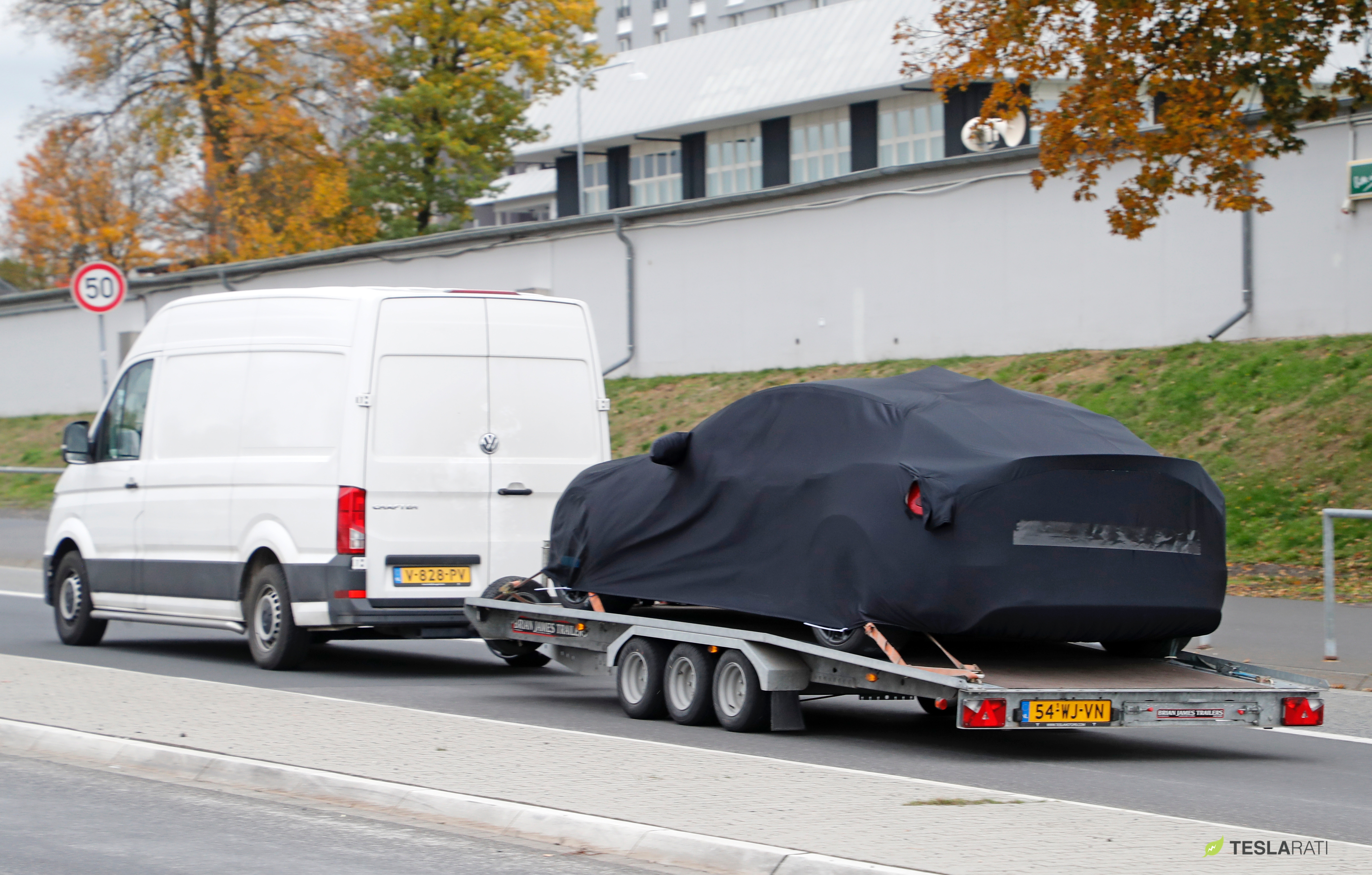 Tesla Model S P100D+ delivery to Nurburgring