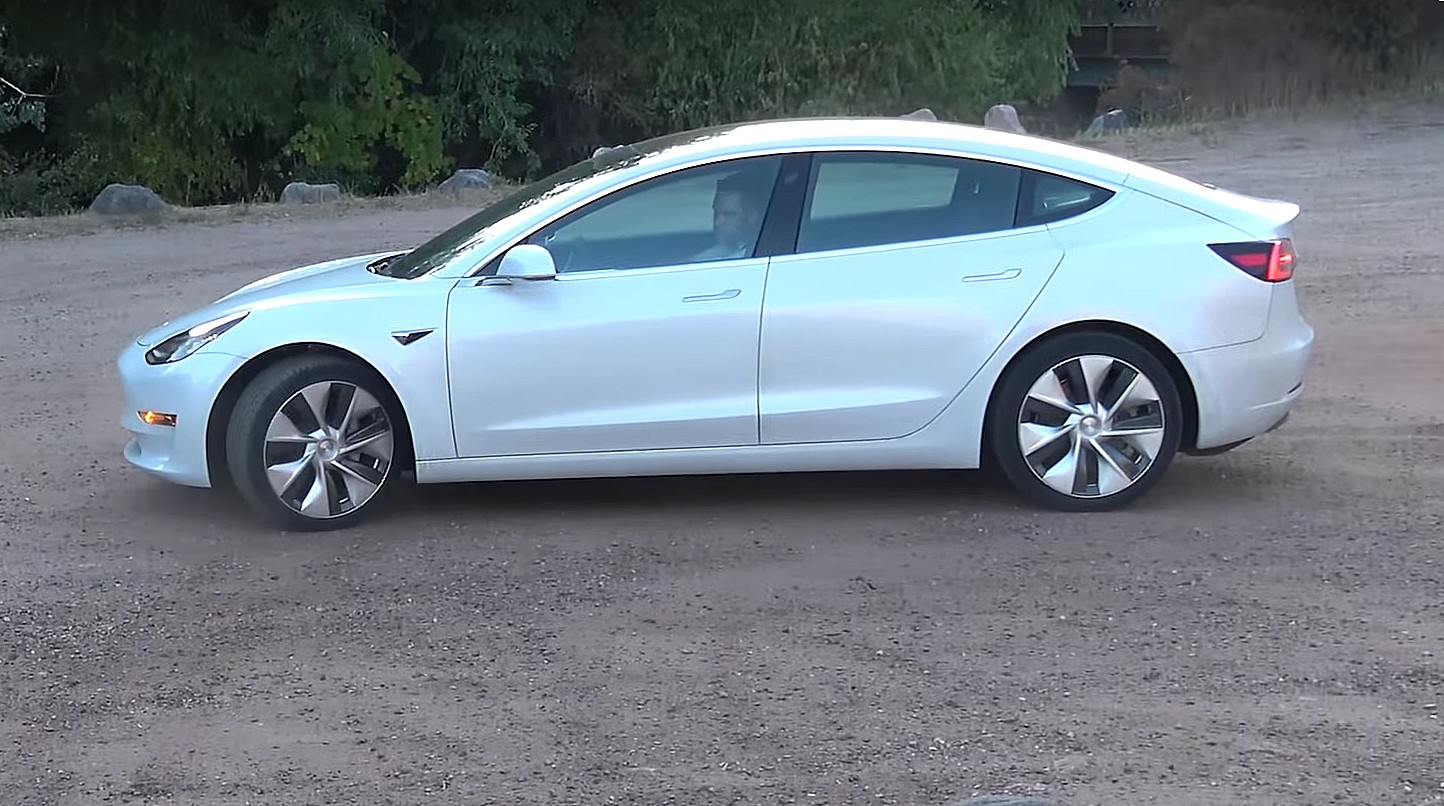 Closer Look At Tesla S Exclusive Model 3 Power Sports
