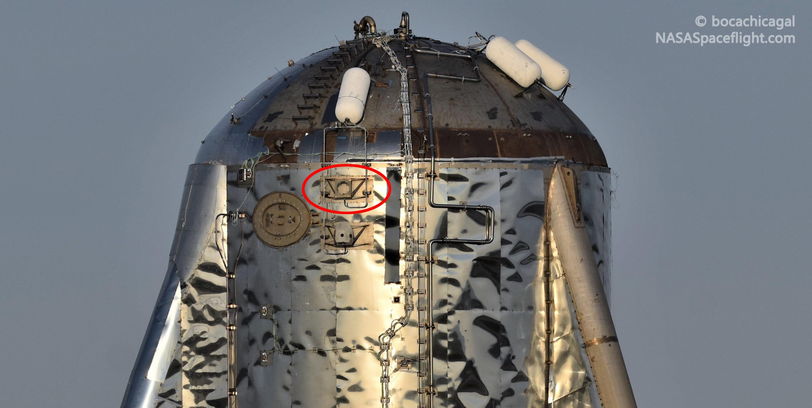 Boca Chica Starship Mk1 110519 (NASASpaceflight – bocachicagal) pad 5 crop circle