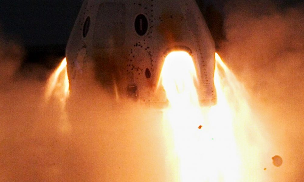 SpaceX says crew spacecraft abort test still on track for 2019 launch