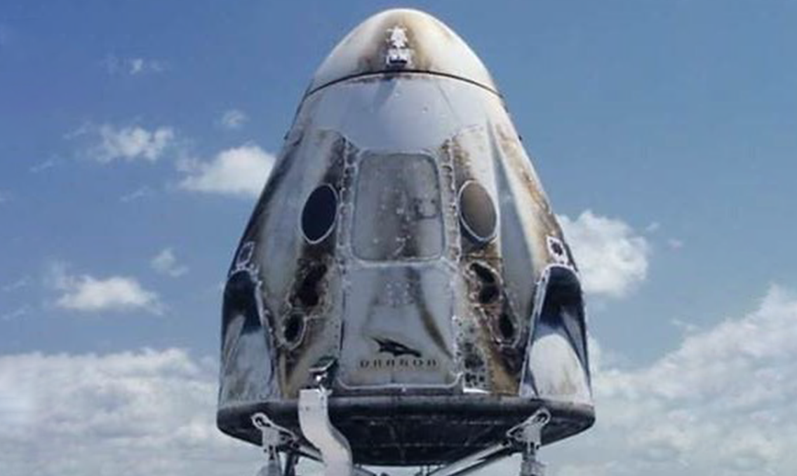 SpaceX Crew Dragon tests SuperDraco rocket engines in new slow-mo video