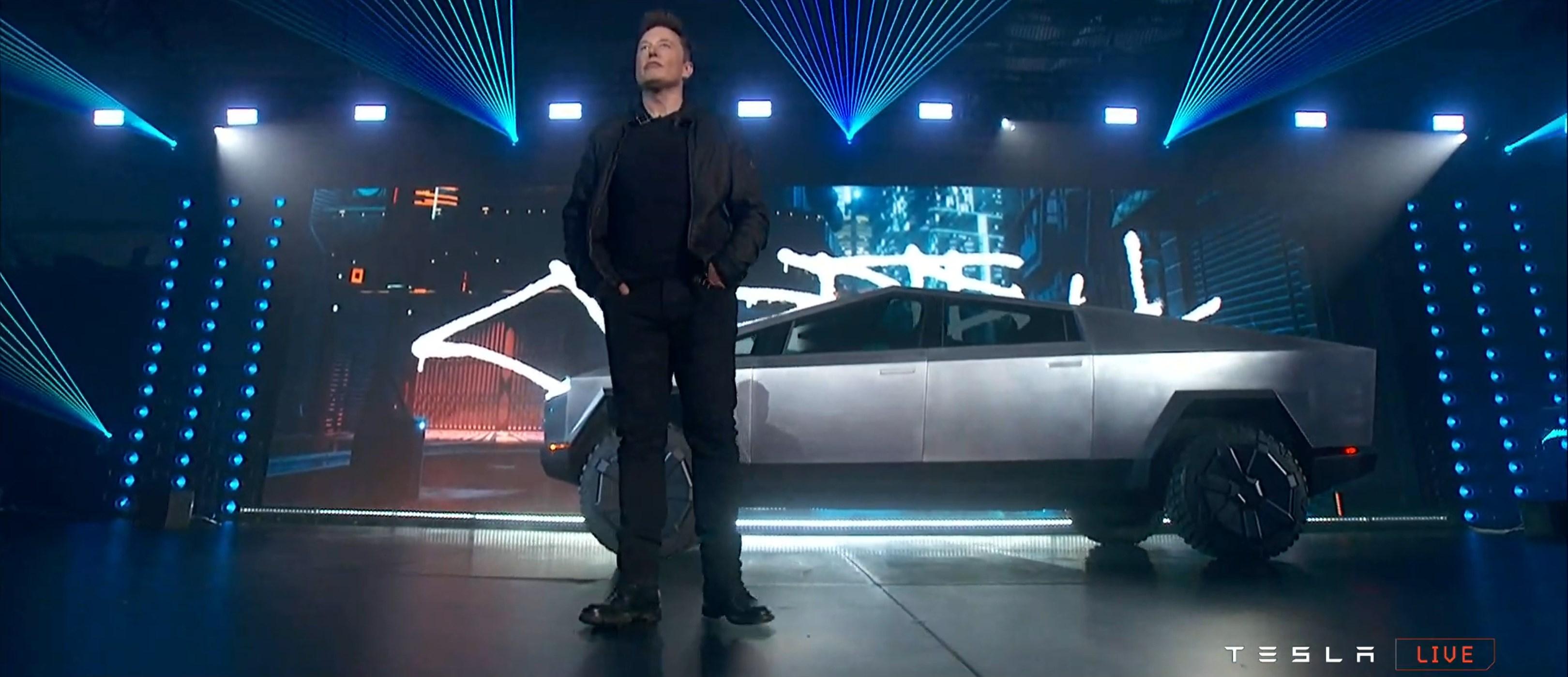 Cybertruck reveal webcast (Tesla) 5