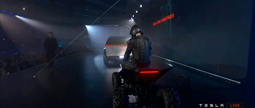 Tesla surprises with all-electric ATV at the end of ...