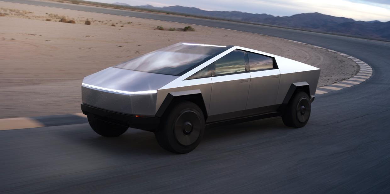 Cybertruck website (Tesla) 1