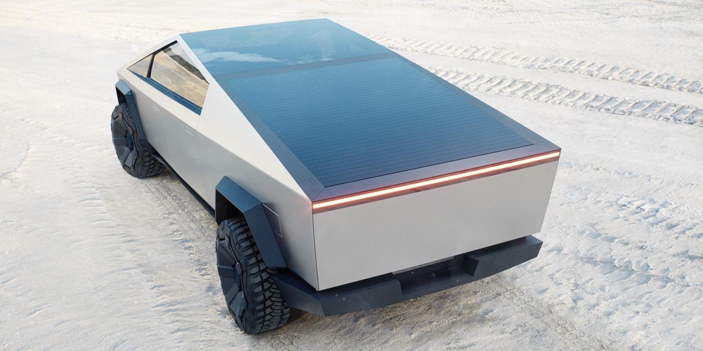 Cybertruck website (Tesla) back 1