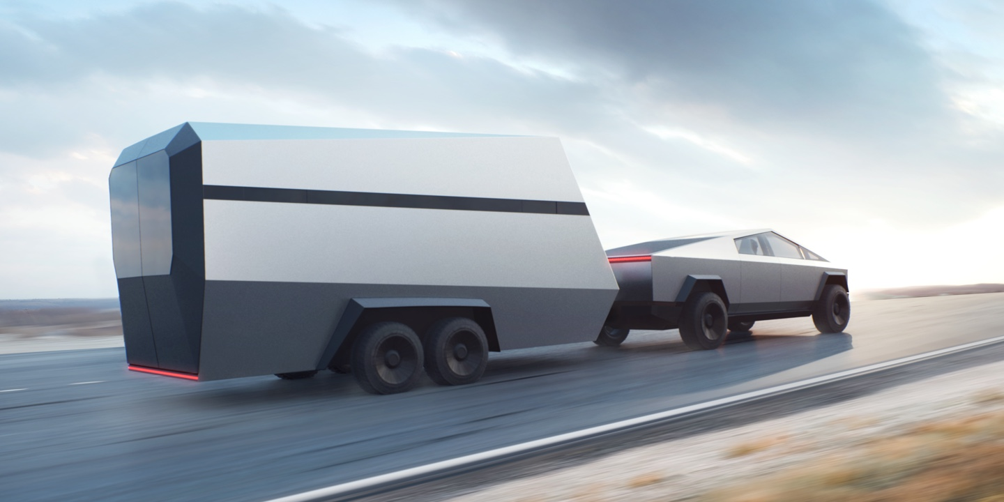 Cybertruck website (Tesla) trailer 1