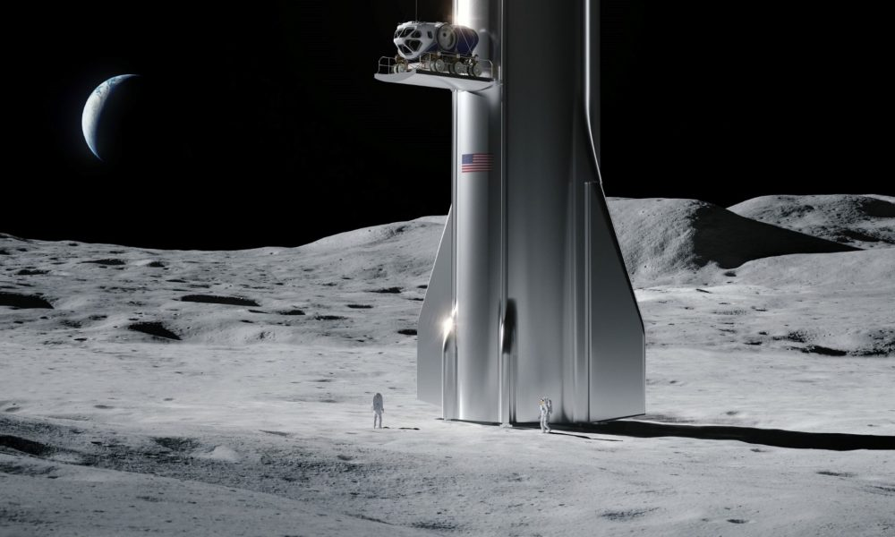 SpaceX's Starship to spar with Blue Origin for NASA Moon landing contracts