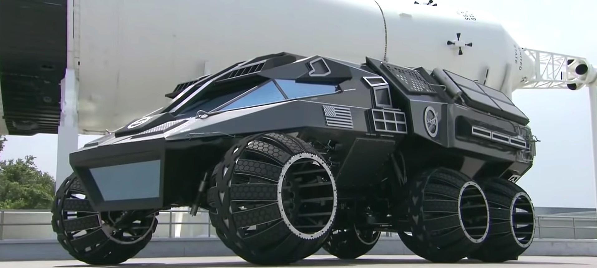 Tesla Cybertruck Sure Looks Similar To Nasa S Mars Rover