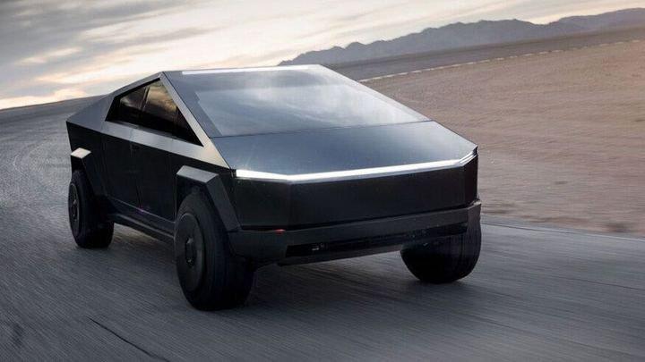 Elon Musk Hints At Smaller Tesla Cybertruck Version Down