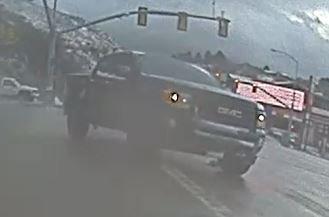 Alleged GMC Pickup Involved In Tesla Model 3 Roll Over Accident In Utah