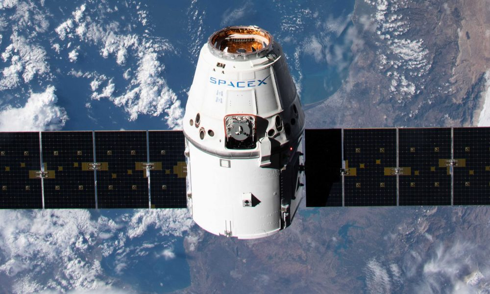 SpaceX Cargo Dragon spacecraft arrives at space station on second to last mission