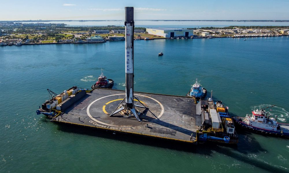 SpaceX adds a second drone ship to its East Coast rocket recovery fleet