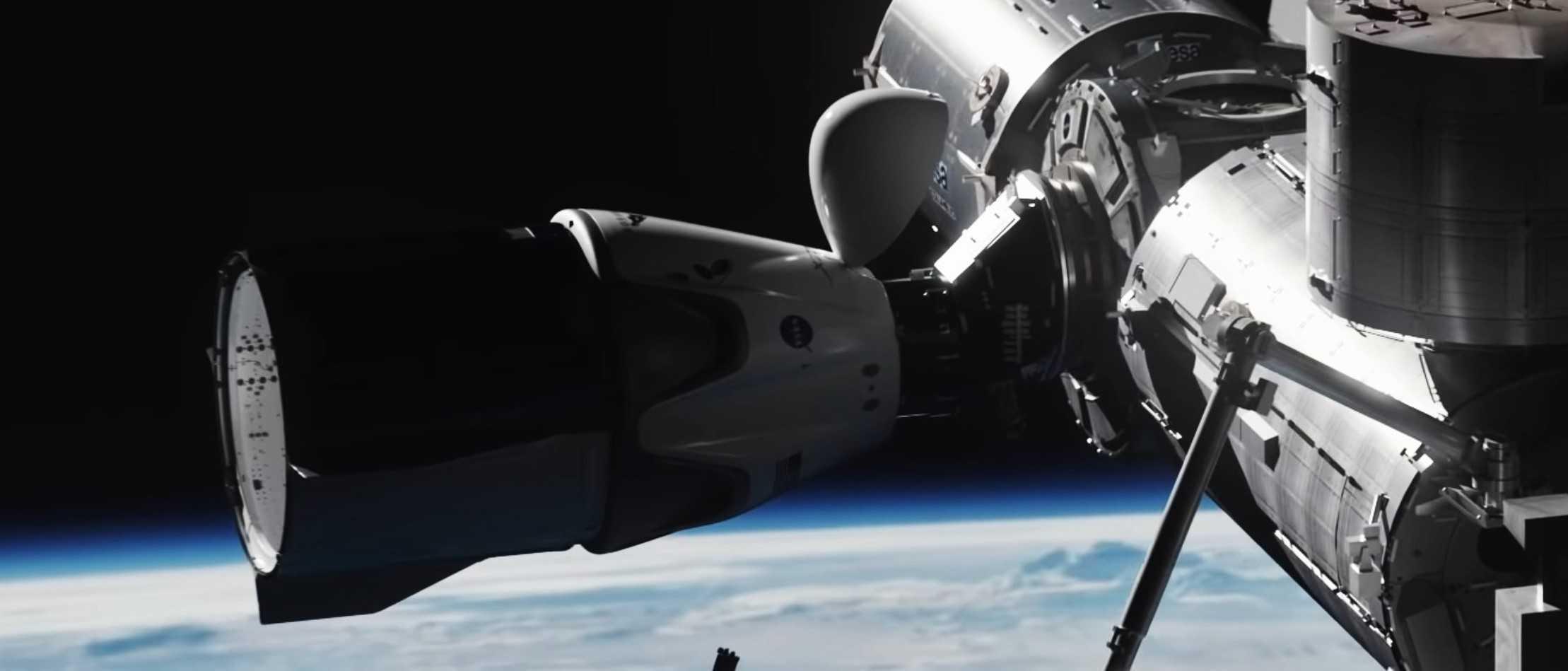 Crew Dragon Demo-2 animation Dec 2019 (SpaceX) ISS 6 crop (c)