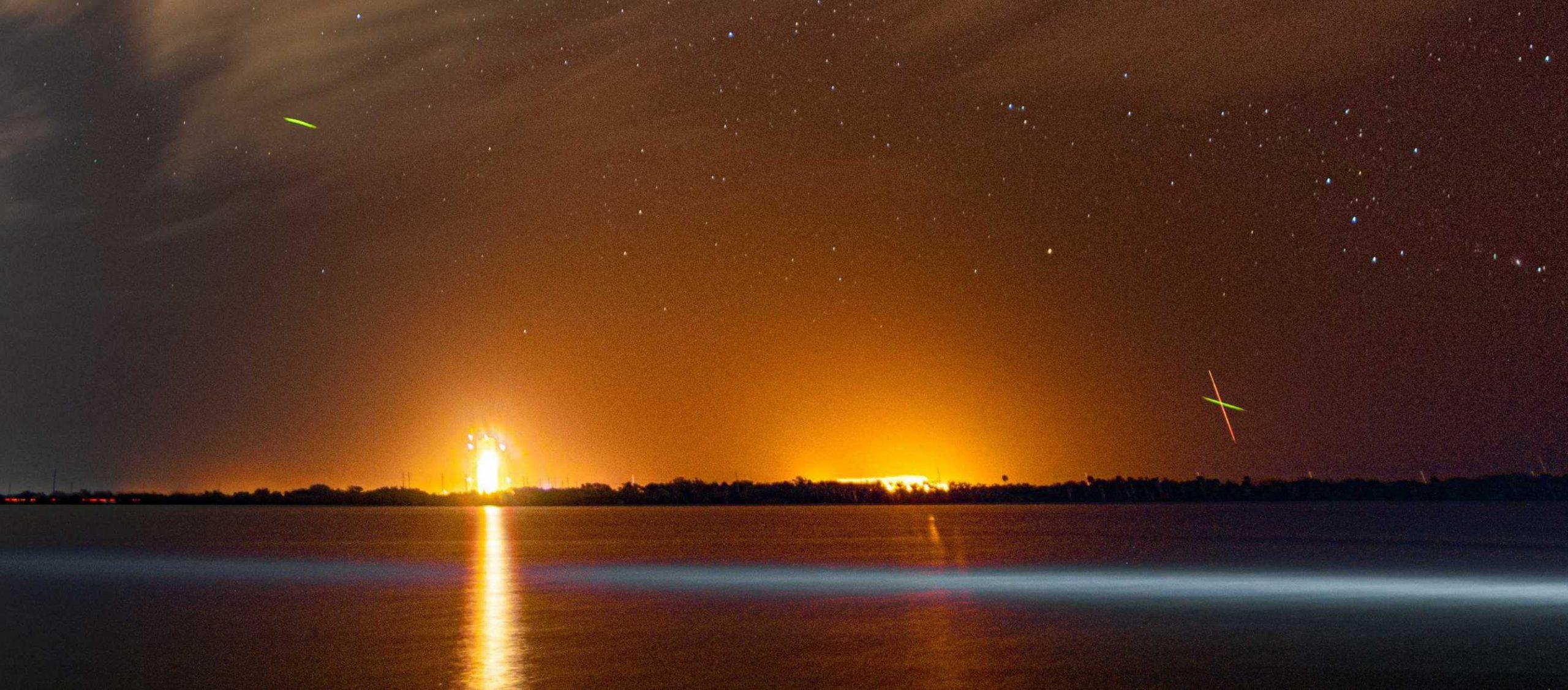 Falcon 9 Kacific-1 launch streak 121619 (Richard Angle) 1 fireflies crop 2 (c)