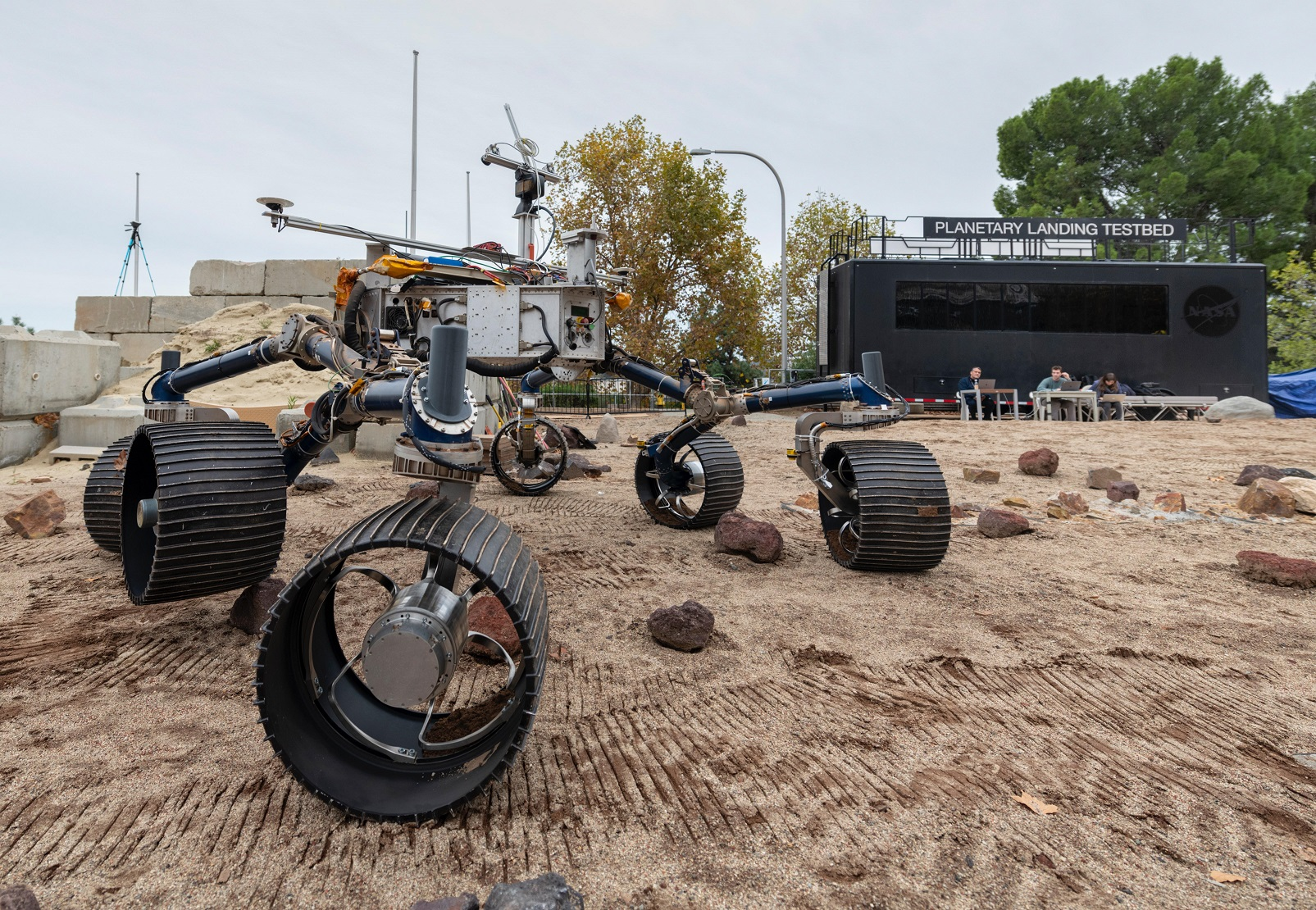 Mars 2020 test rover