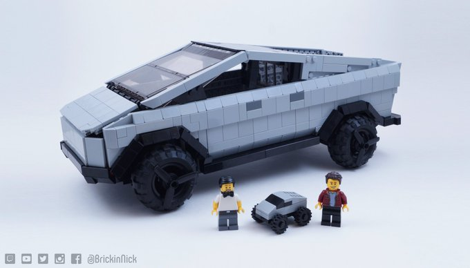 Tesla Cybertruck Lego Ideas 2