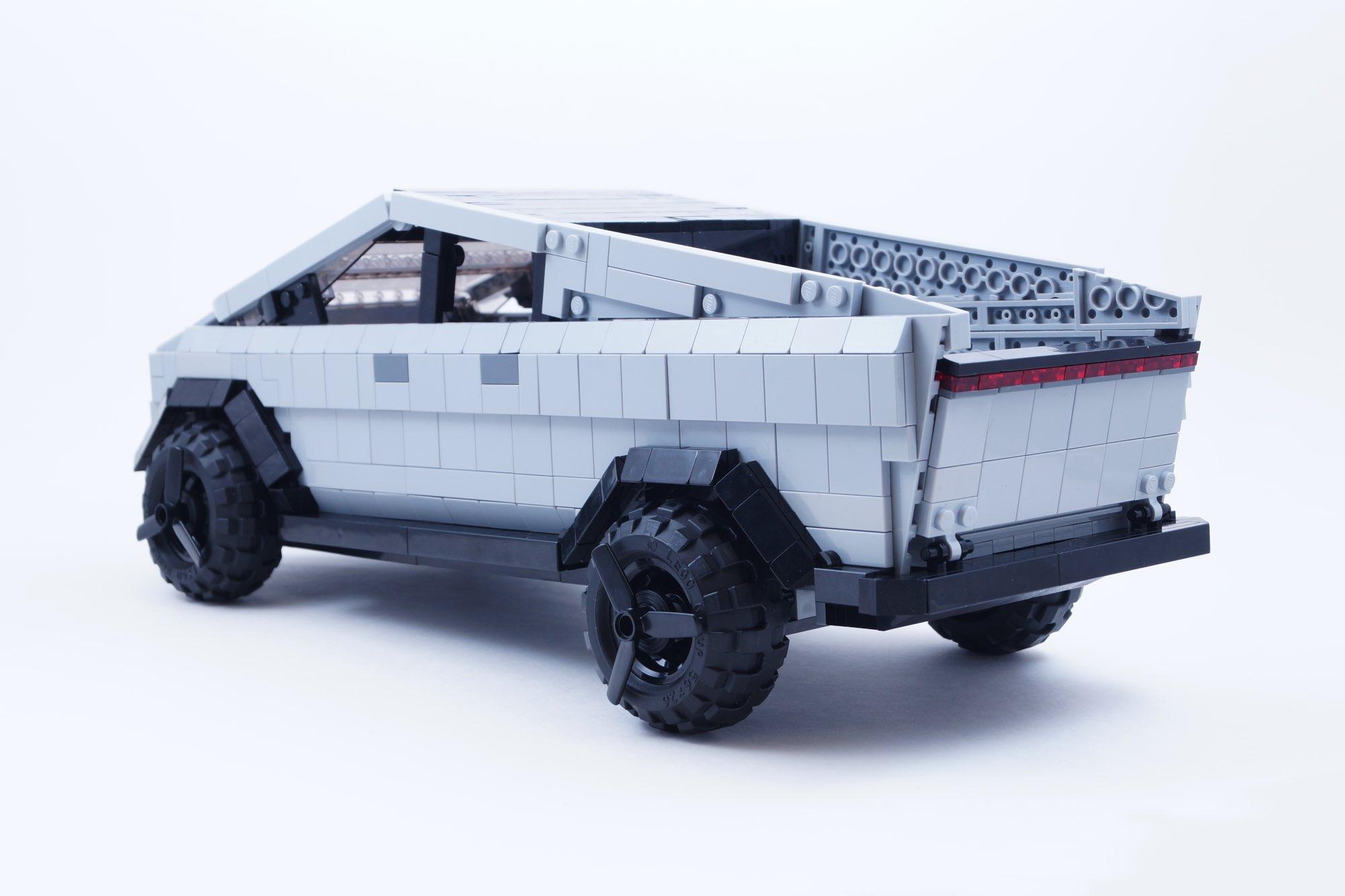Tesla Cybertruck Lego Ideas 4