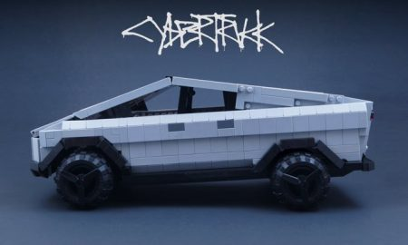 Tesla Cybertruck Lego Ideas