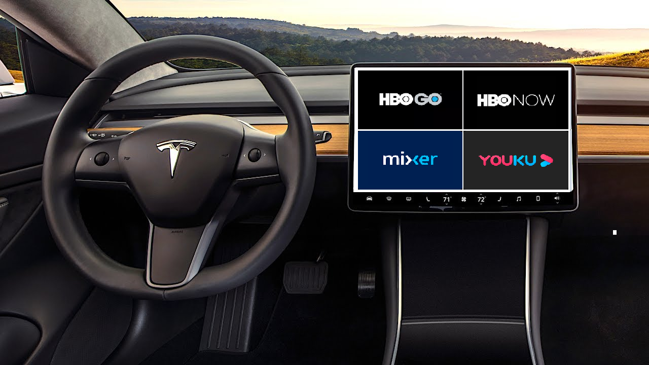 Tesla In-Car Entertainment