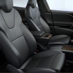 Tesla Model S Updated Front Seats (Source: Tesla)