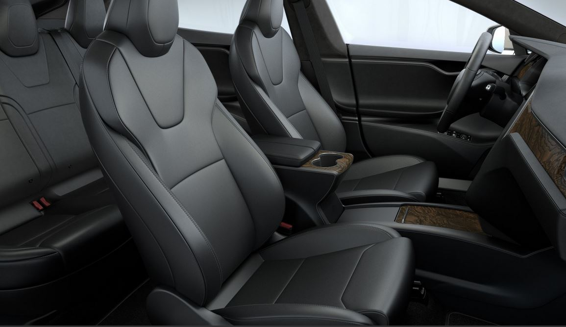 Tesla Model S Updated Seats