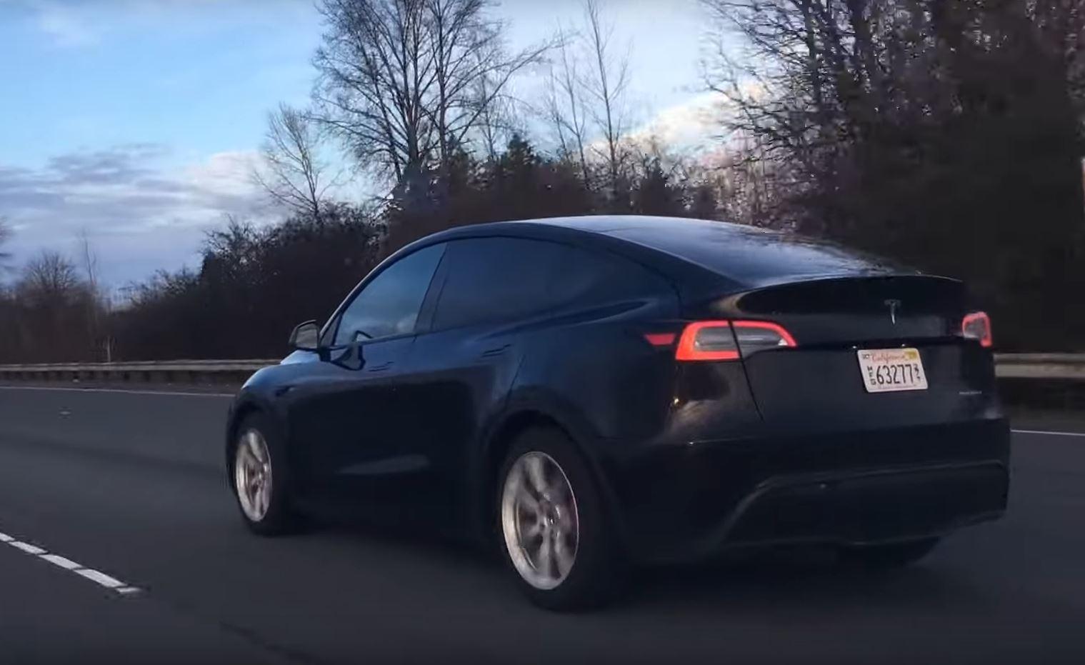 Tesla Model Y in Washington State
