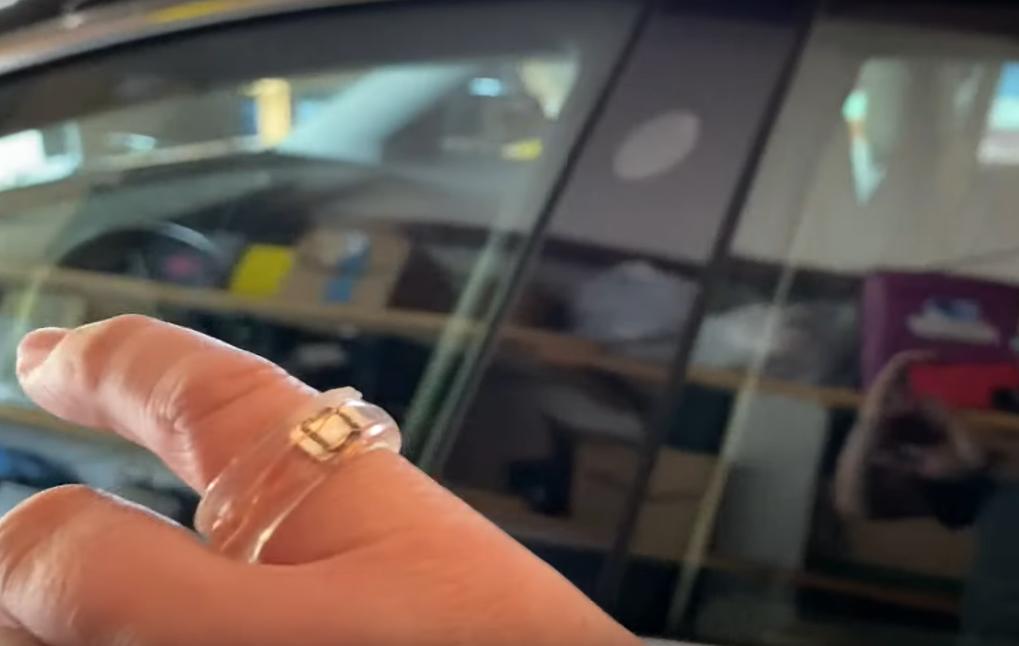 Tesla Modely 3 Key Ring