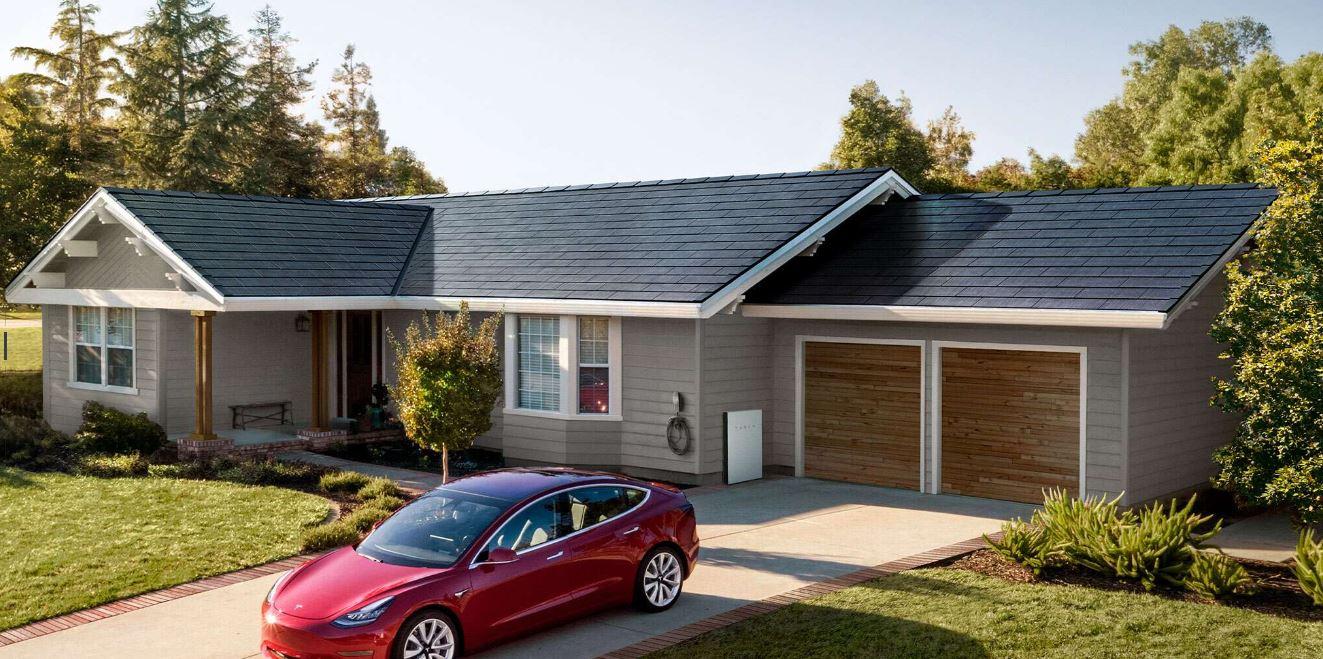 Teslar Solar Roof