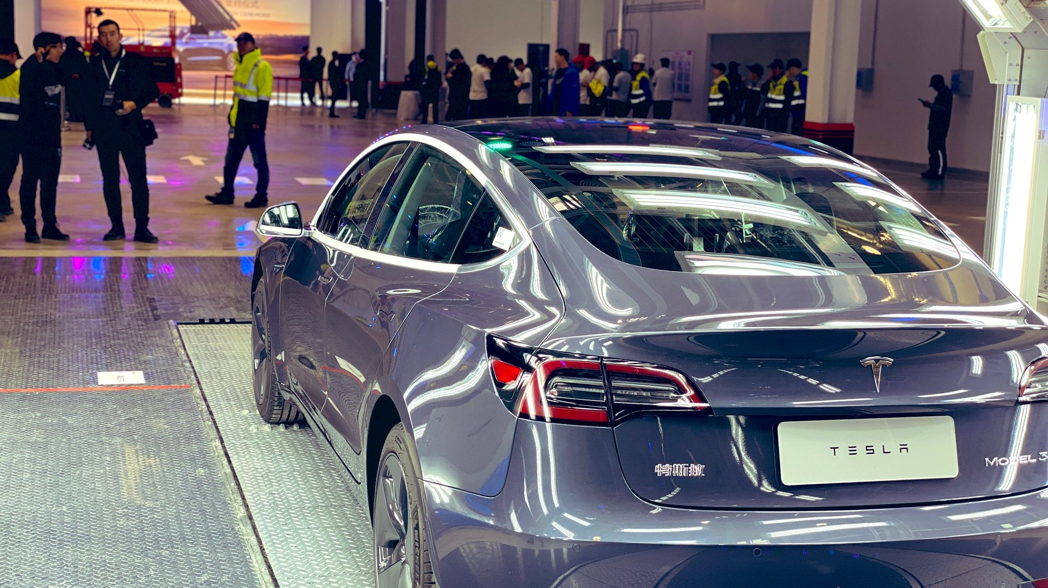 Tesla Delivers First China