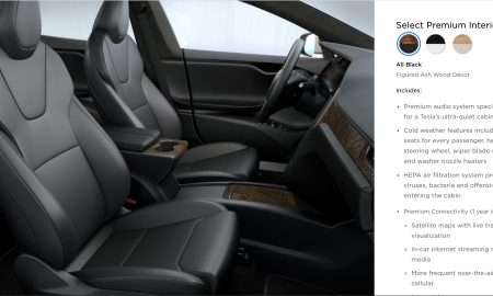 Tesla Model S Updated Front Seats in Design Studio (Source: Tesla)