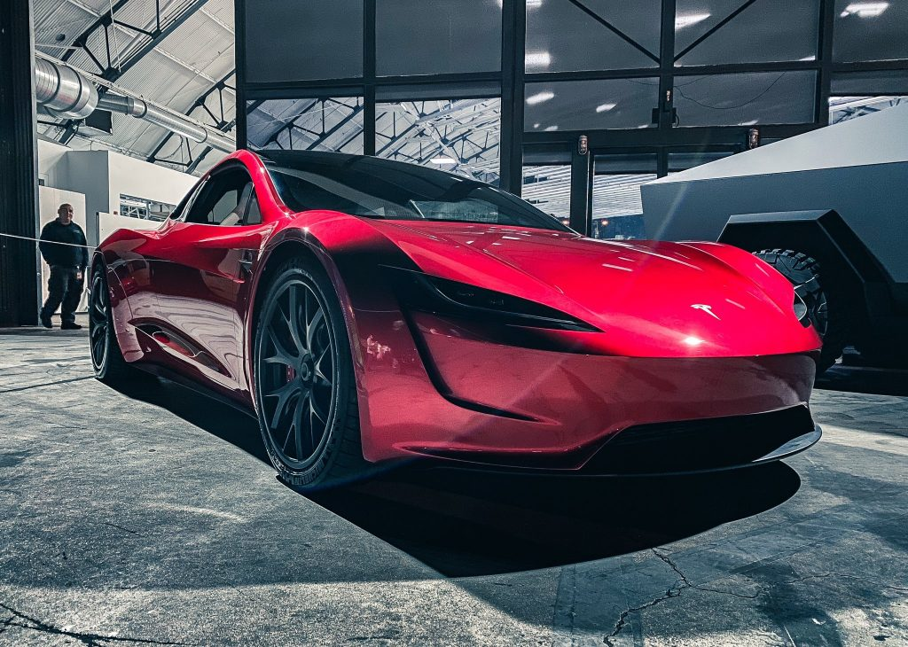 Tesla brings out Cybertruck, ATV and Roadster at company ...