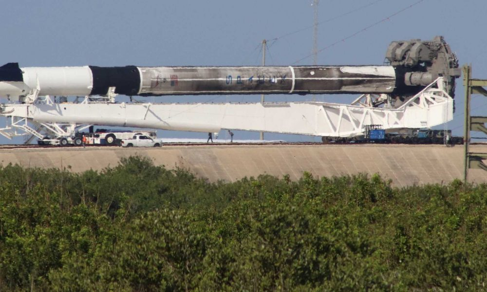 NASA says SpaceX's Crew Dragon abort test is go for launch on doomed Falcon 9 rocket