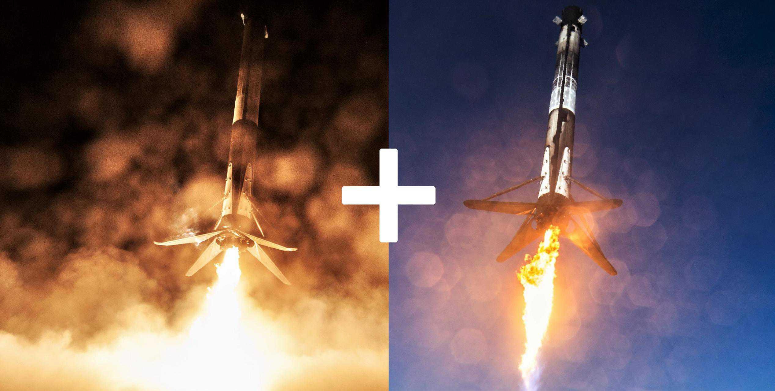 Falcon 9 B1051 B1046 DM-1 SSO-A landings (Teslarati – SpaceX) 1 (c)