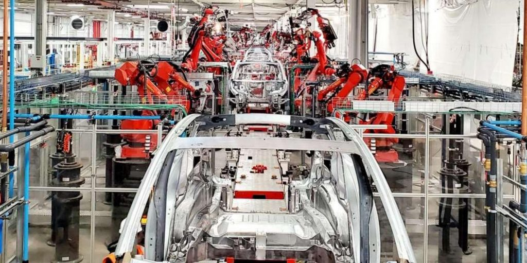 "Tesla patents aluminum ""spray quench"" process for molecular-level strengthening"
