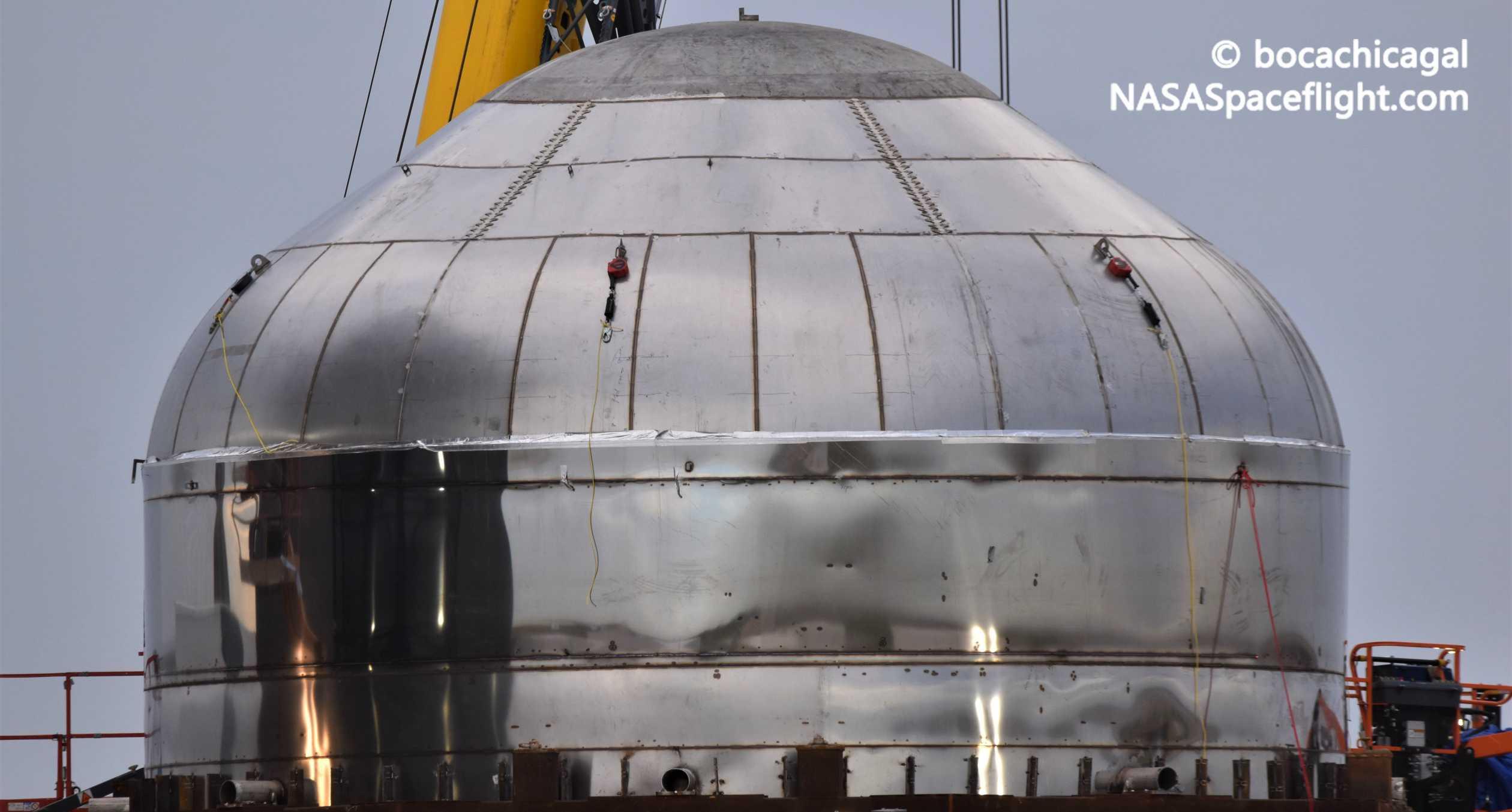 Starship Boca Chica 010920 (NASASpaceflight – bocachicagal) test tank 2 crop 1 (c)