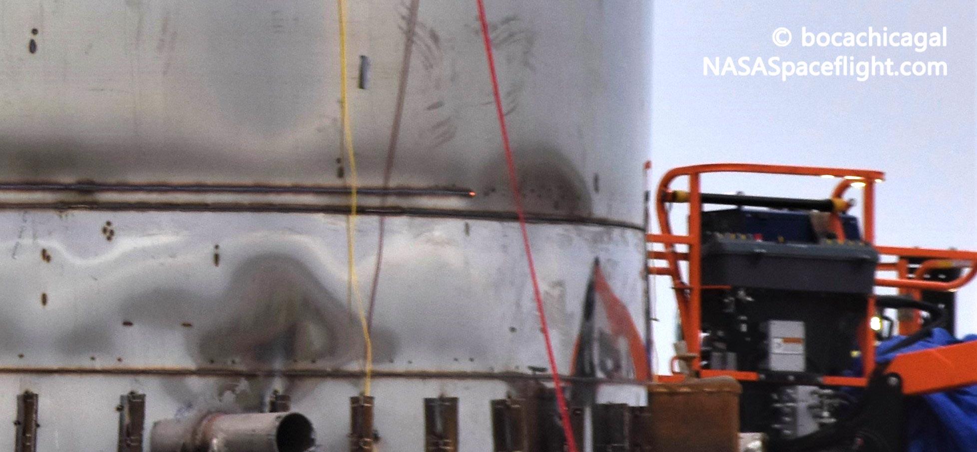 Starship Boca Chica 010920 (NASASpaceflight – bocachicagal) test tank 2 crop