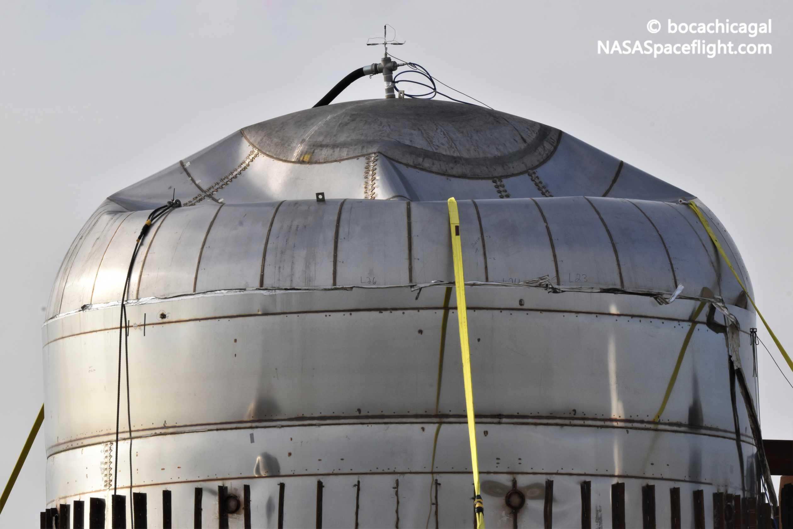 Starship Boca Chica 011020 (NASASpaceflight – bocachicagal) tank post test 5 (c)