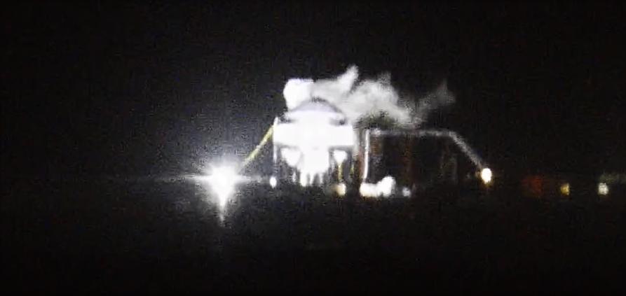 Starship test tank #2 cryo hardening 012820 (SpacePadreIsle) 1