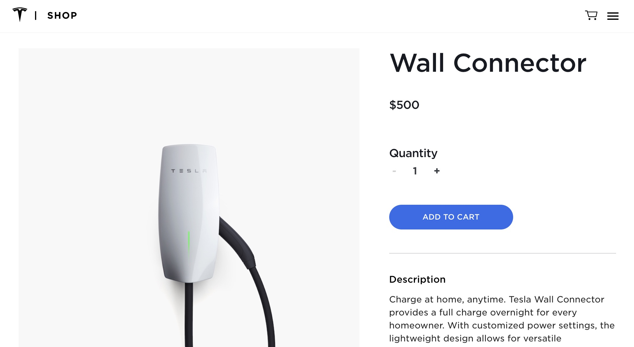 Tesla 3rd-Gen Wall Connector