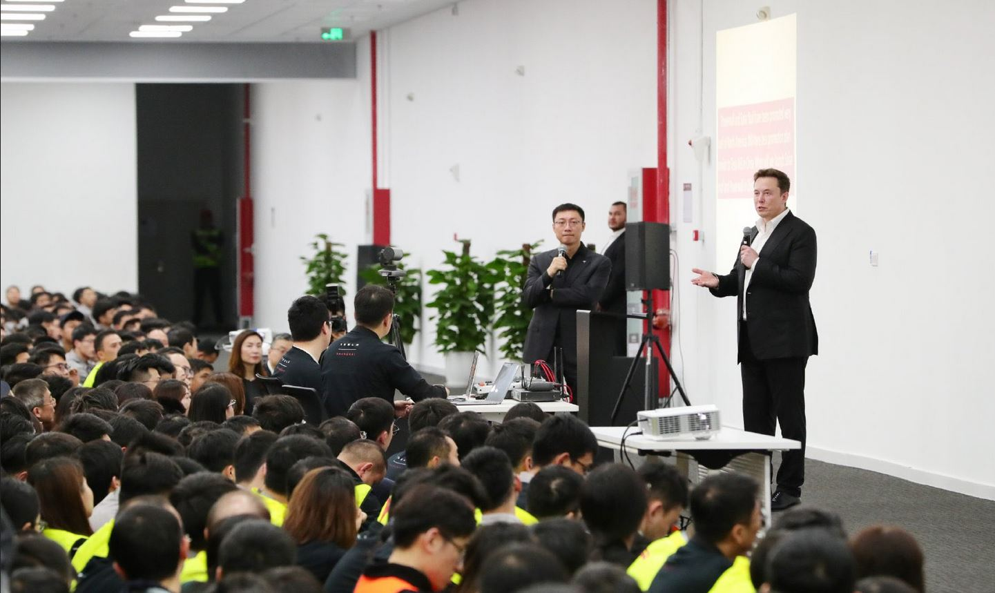 Tesla CEO Elon Musk at GF3 in Shanghai