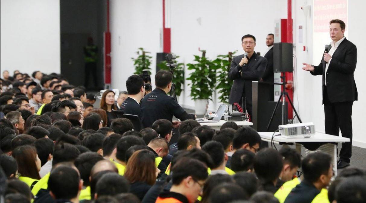 Tesla CEO Elon Musk at GF3 in Shanghai