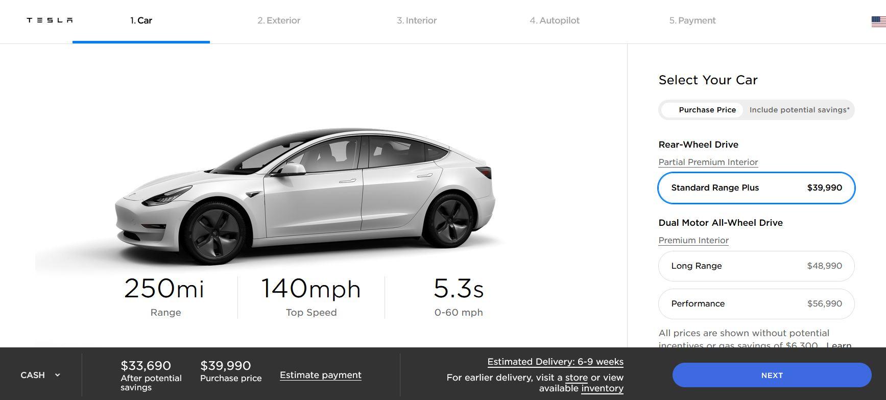 Tesla owner shares $35k Model 3 Standard Range complete buying guide