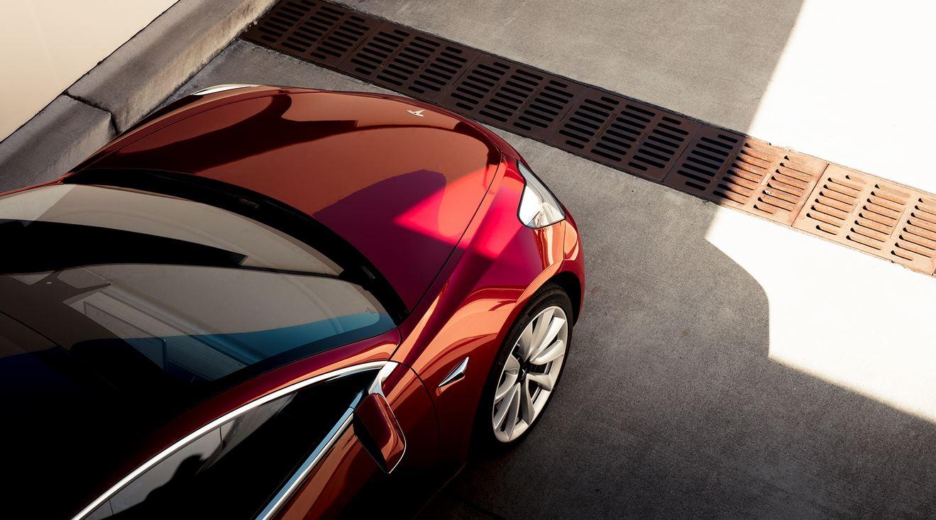 Tesla Model 3 Side Mirror